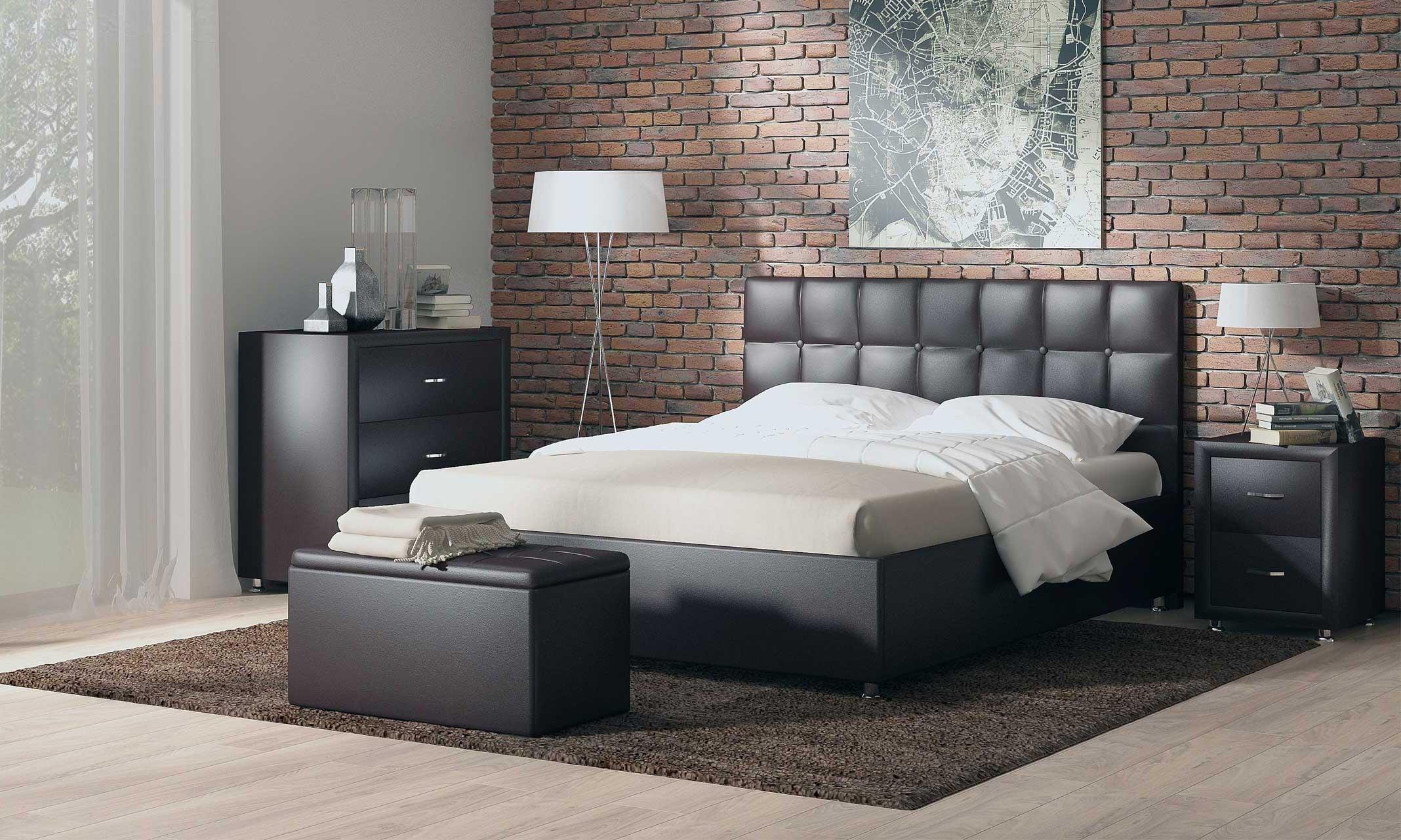 Современная спальня: место отдыха и ничего лишнего